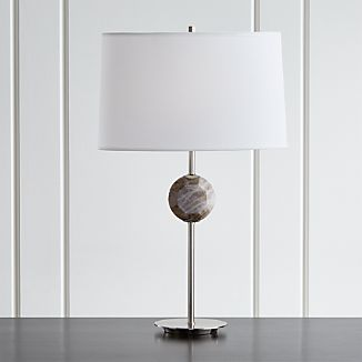 Hazel Smoke Quartz Table Lamp