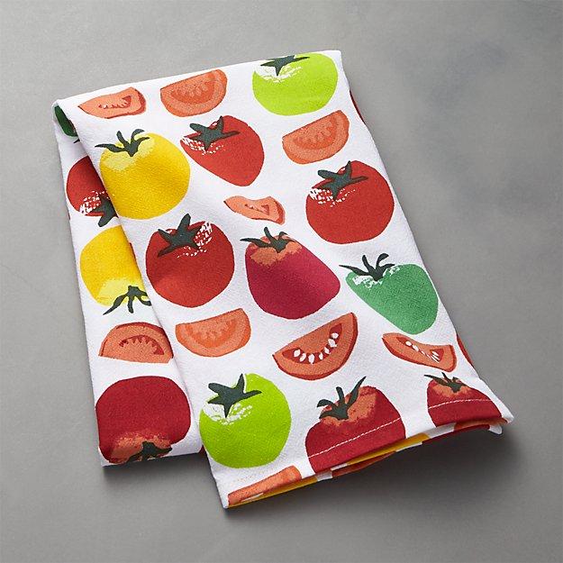 Heirloom Tomato Dish Towel