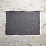 Helena Graphite Grey Linen Placemat