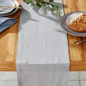 """Crate /& and Barrel HELENA SAGE GREEN TABLECLOTH NWOT Year-round! 60/"""" x 90/"""""""