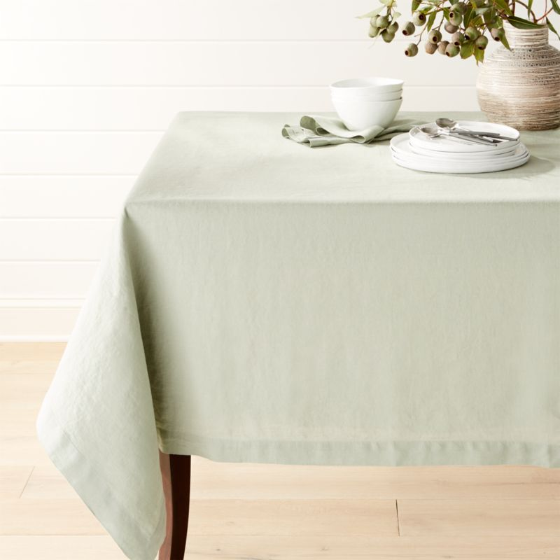 60 X 120 Oval Tablecloth Affordable Peaceful Vinyl