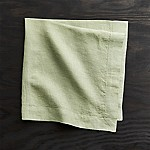 Helena Sage Green Linen Dinner Napkin