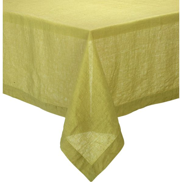 "Helena Pear 60""x90"" Tablecloth"