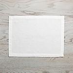 Helena Vanilla White Linen Placemat