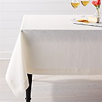 Helena Vanilla Linen Tablecloth 60 x90