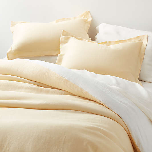 Straw Hemp Duvet Covers and Shams