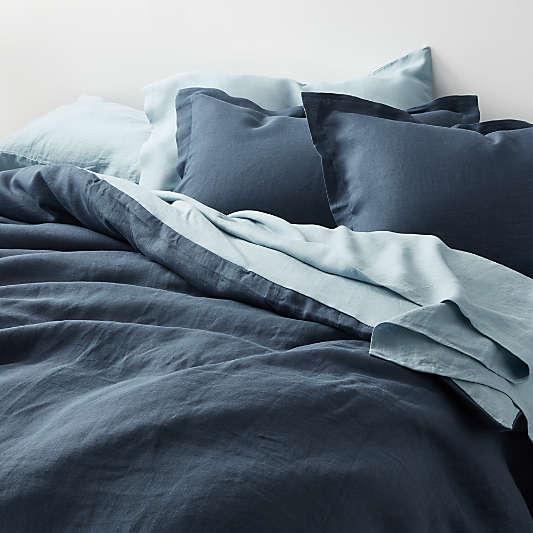Lake Hemp Duvet Covers and Pillow Shams