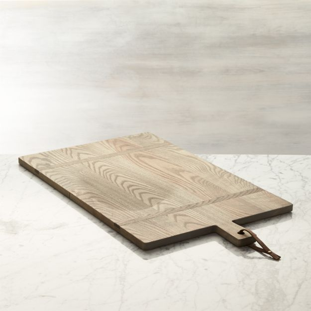 Serving board - French country style in this J. K. Adams Heritage Serving Board from Crate & Barrel.
