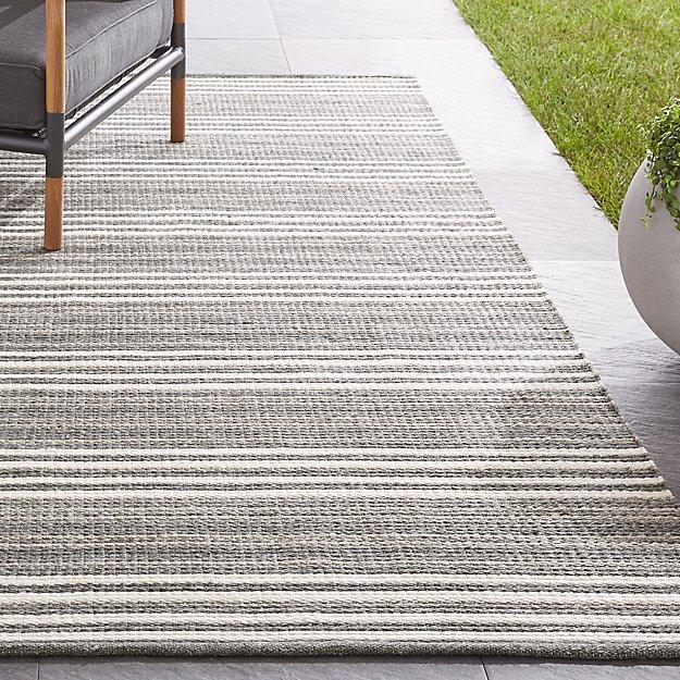 Hesper Striped Indoor/Outdoor Rug - Image 1 of 4