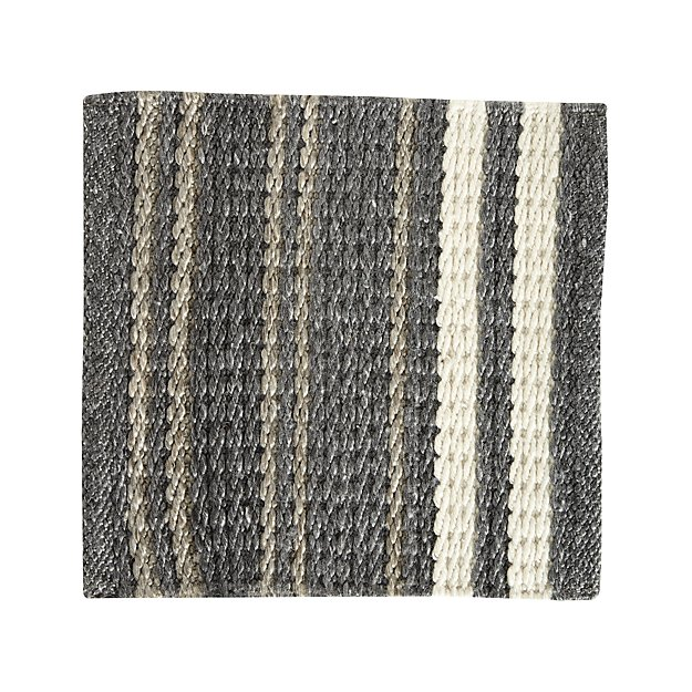 Hesper Striped Indoor/Outdoor Rug Swatch - Image 1 of 5