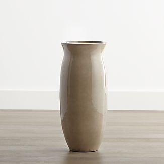 Hewett Short Ceramic Floor Vase-Umbrella Stand