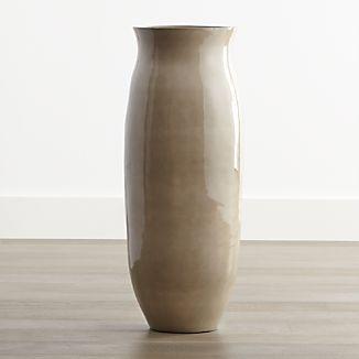 Hewett Tall Ceramic Floor Vase