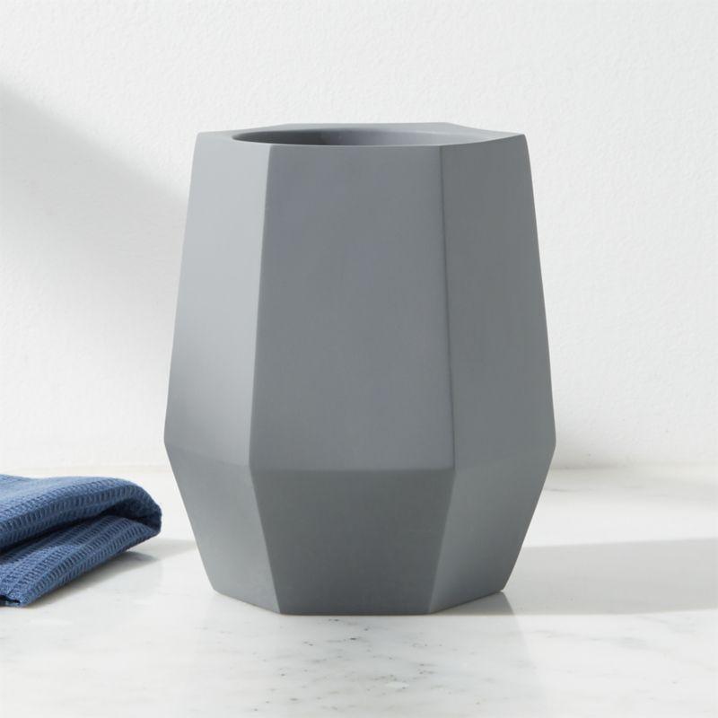 A Celebration Of Concrete: Hexagon Concrete Wine Cooler/Utensil Holder + Reviews