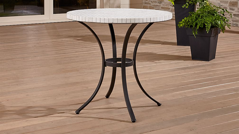 Completely new Mosaic Bistro Table + Reviews | Crate and Barrel VO52