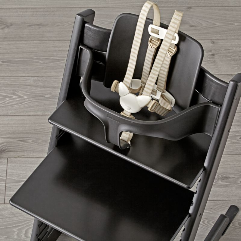 black tripp trapp baby set from stokke reviews crate and barrel. Black Bedroom Furniture Sets. Home Design Ideas