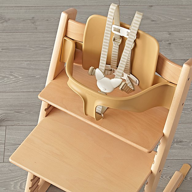 Natural Tripp Trapp Baby Set from Stokke + Reviews | Crate and Barrel