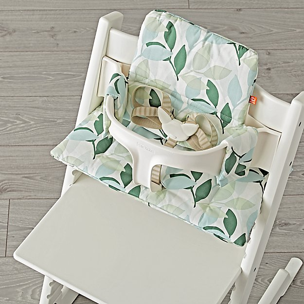 green forest stokke high chair cushion reviews crate and barrel. Black Bedroom Furniture Sets. Home Design Ideas