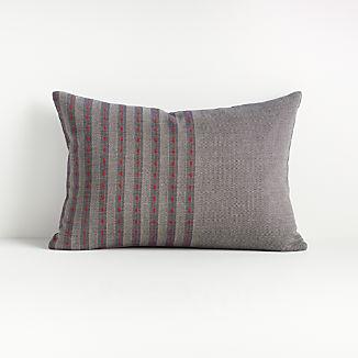 """Hiiromi Herringbone Pillow 22""""x15"""""""