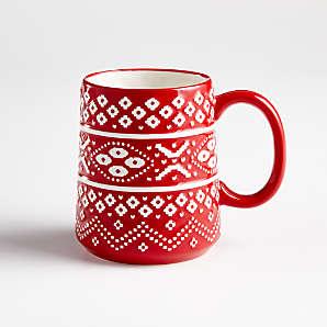 Set of 4 Plain White Fine Bone China Tea//Coffee Mugs