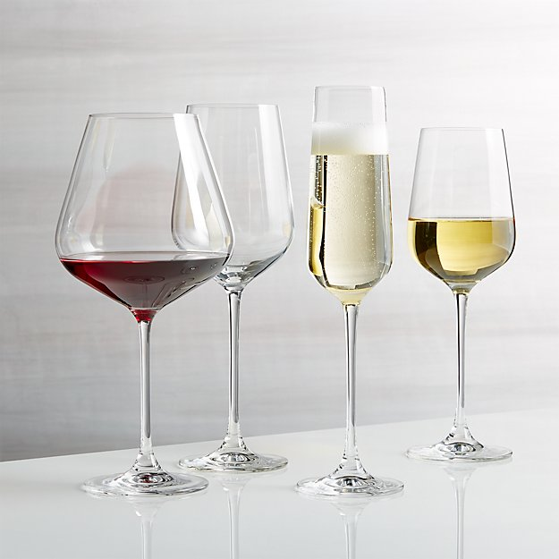 Hip Wine Glasses Crate And Barrel
