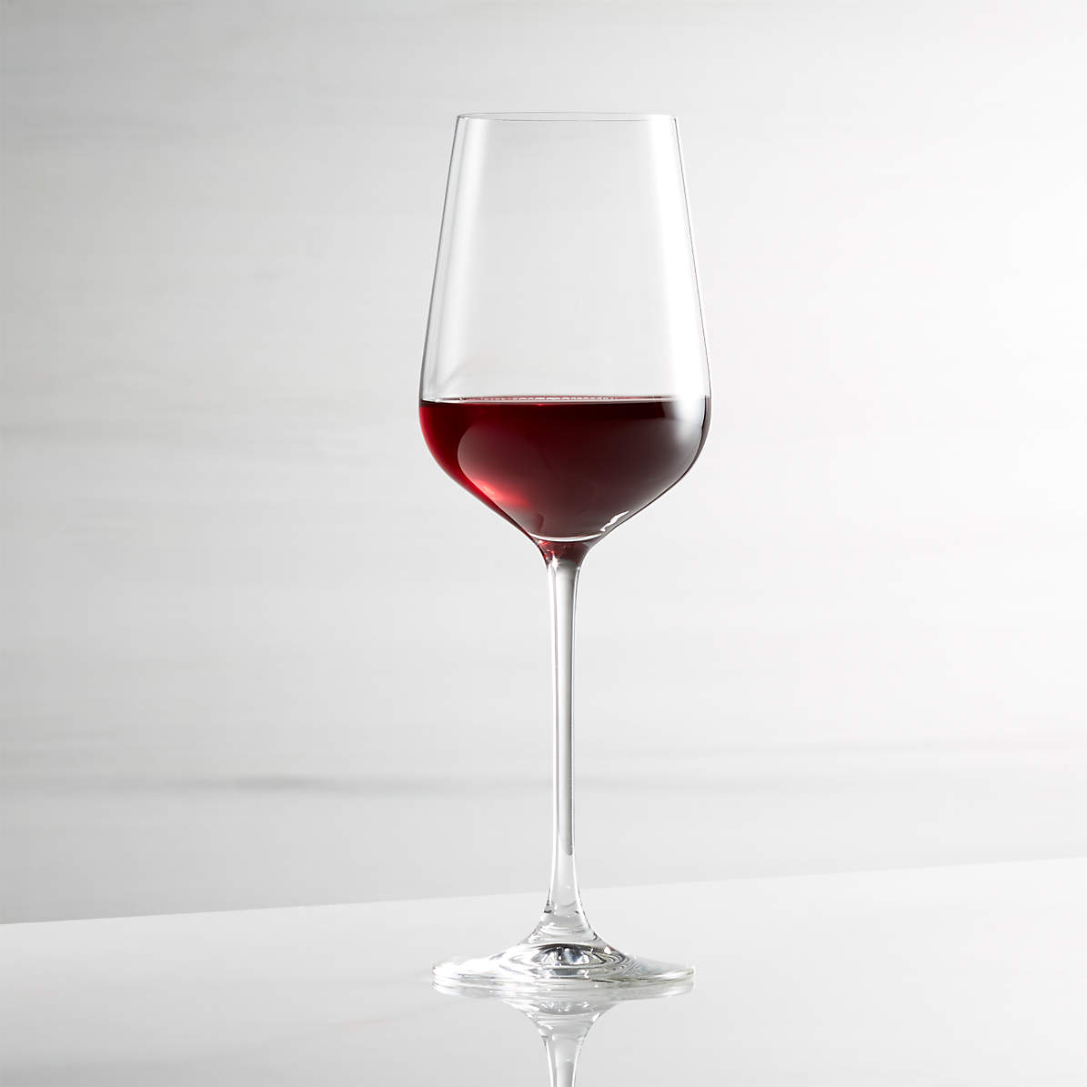 Hip 19 Oz Red Wine Glass Reviews Crate And Barrel