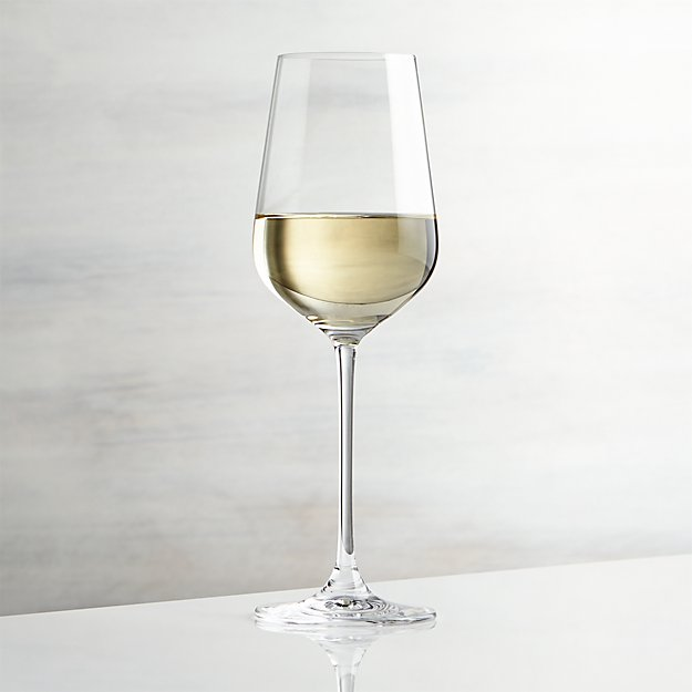 Hip White Wine Glass Crate And Barrel