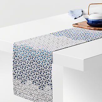 "Hive 90"" Honeycomb Table Runner"
