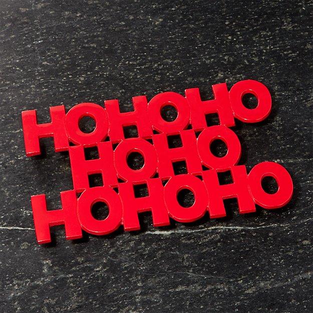 Ho Ho Ho Trivet