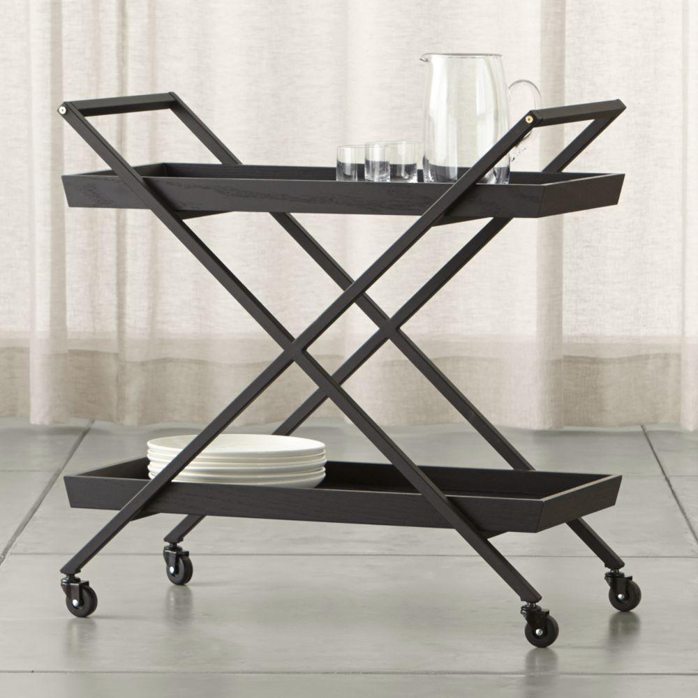 Hobbs Bar Cart - Crate and Barrel