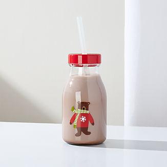 Holiday Bear Tritan Milk Bottle