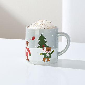 Children's Holiday Bears Mug