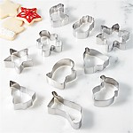 Mini Holiday Cookie Cutters, Set of 10