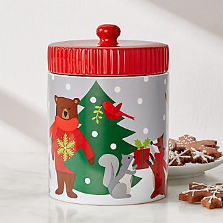 Red Kitchen Canisters | Red Kitchen Canisters Crate And Barrel