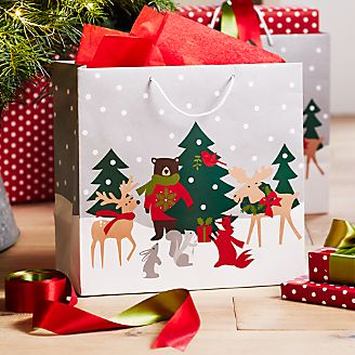 Holiday Critters Gift Bag