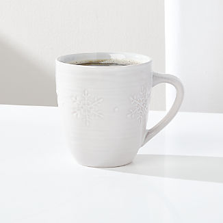 Holiday Snowflake Mug
