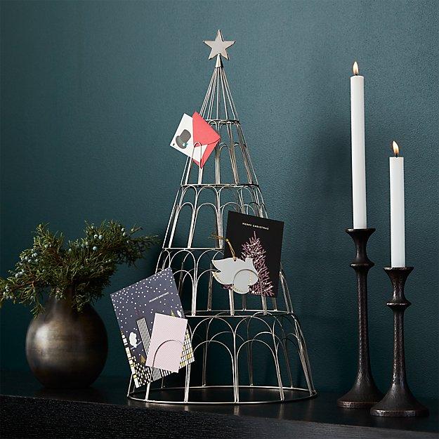 Holiday Tree Card Holder