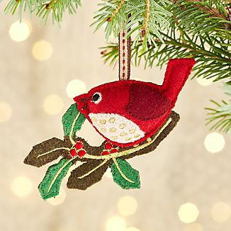 Holly the Red Bird Ornament