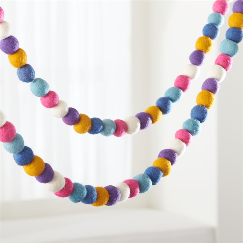 Holy Days Festival Felt Garland by Crate&Barrel