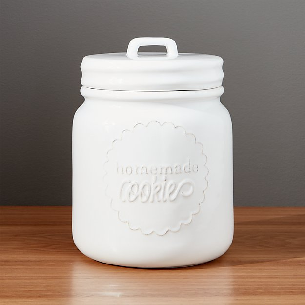 Homemade Cookie Jar Crate And Barrel