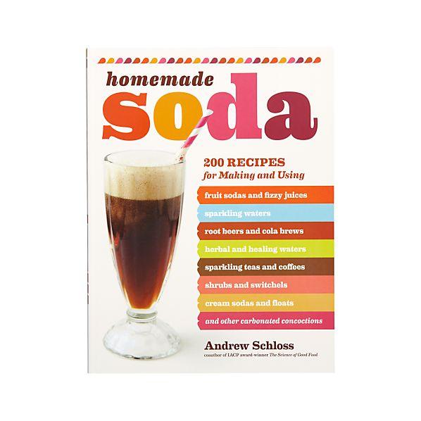 Homemade Soda Cookbook