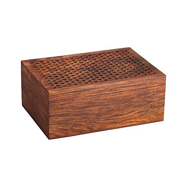 Honeycomb Wood Box