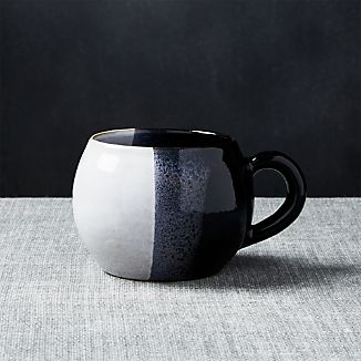 Horizon Black Mug