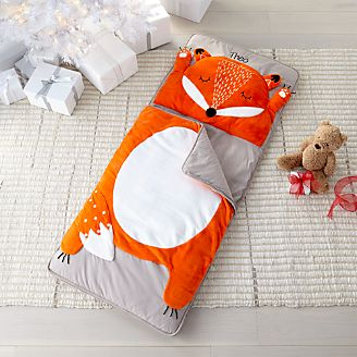 How Do You Zoo Fox Toddler Sleeping Bag Kids