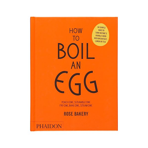 How to Boil an Egg Cookbook