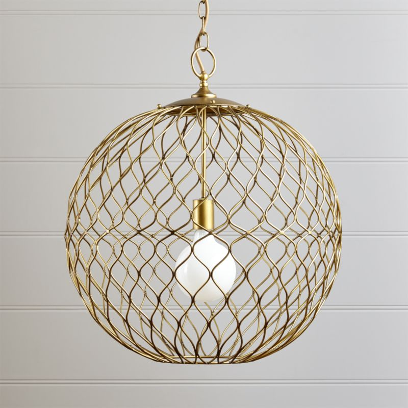 Pendant Lighting And Chandeliers Crate And Barrel - Pendant loghts