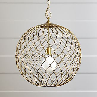 Hoyne Brass Pendant