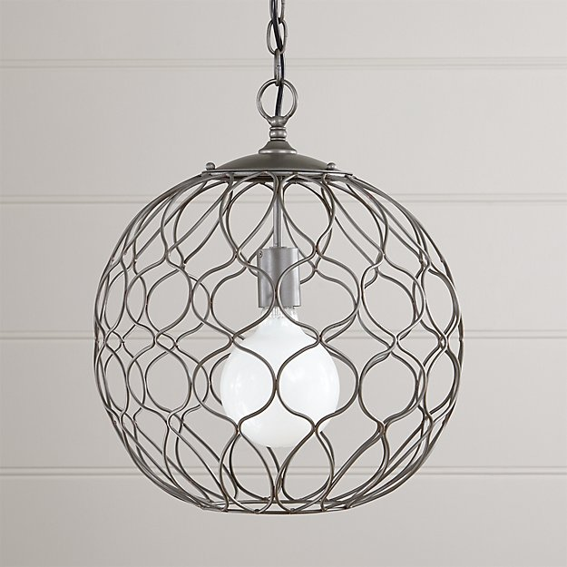 "Hoyne 15"" Iron Pendant Lamp"