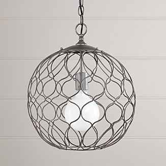 Hoyne Small Iron Pendant Lamp