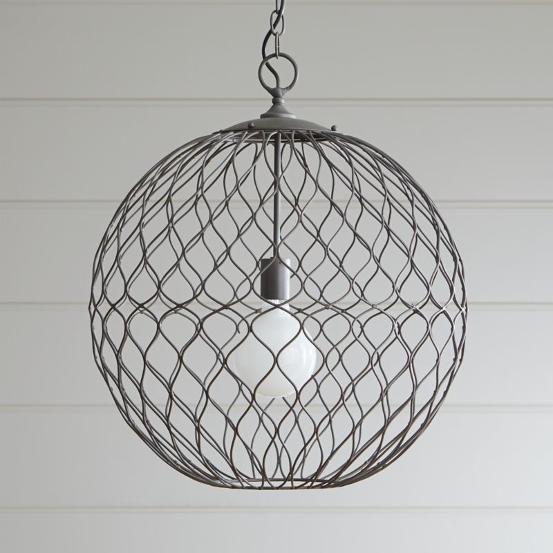 Hoyne Pendant + Reviews | Crate and Barrel