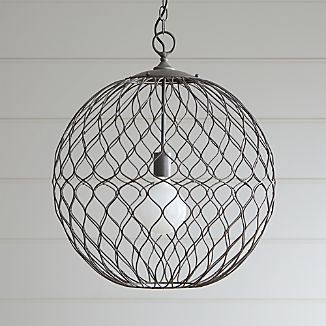 Exciting Pendant Light Fixtures Crate And Barrel Lighting